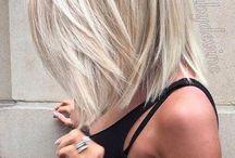 Haare kurz blond balayage