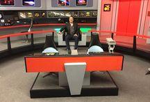 Star Trek Original Series Set Tour / Photographs from the Star Trek writers' visit to Ticonderoga, New York, where we toured the amazing Star Trek Original Series Set Tour