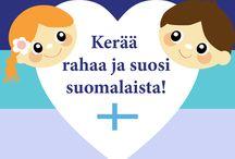 Suosithan suomalaista varainhankinnassa! / Kerää rahaa luokalle tai seuralle kotimaisilla KivaKaverin tuotteilla.