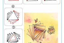 Doodling en Zentangel