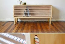 rope and sideboard