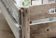Dřevo a palety