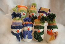 Christmas knit and natter