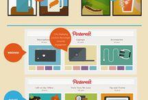 Visual marketing   Instagram   Pinterest infographics / Visual marketing infographics: all about powerful visuals, photos, Instagram, Pinterest