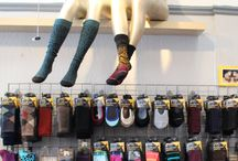 Socks, Tights, Leggings, Oh My! / Cool Fall socks, tights, leggings and more from Shoes On Solano!