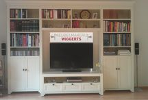 TV en audio meubels / Al onze tv en audio meubels bij elkaar op één bord.
