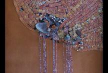 Améthyste / Mosaïque 120 x 60 cm