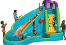 Let's Splash! / Inflatable Water Bouncers, Sprinklers, and Water Tables, Water Toys, Swimming Toys