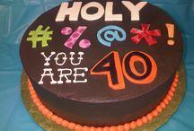 40 th cake