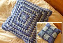 cojines a crochet!