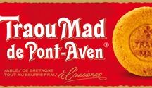 """Traou Mad Pont Aven / Traou Mad means """"good things"""" in Breton and once you've tasted these cookies, you'll know why they chose this company name back in the 1920's. Made with only the freshest and finest flour, eggs, and sugar and without added preservatives or chemicals, Traou Mad cookies are a delicious treat to share with children and adults alike. Housed in beautiful, vintage tins decorated with paintings of Breton village life by Gauguin, the cookies are a perfect gift for others or a as treat to enjoy at home."""