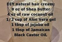 Naturals hair products