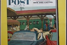 Saturday Evening Post / Original & Antique Poster Museum in NYC   Also available at http://postermuseum.com  vintage magazines