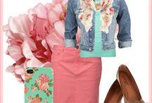 Spring wear :)  / by Cheyenne Curry