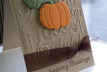 Cardmaking--Thanksgiving & gratitude / Holiday