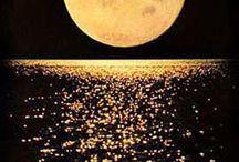 MOON ooooooh how beautiful she shines / Moon scapes
