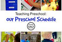 3 year old preschool days