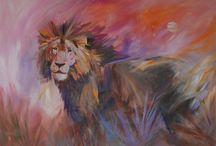 Madaras Paintings / Painting all done by Diana Madaras