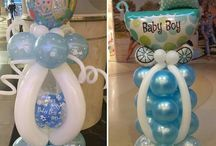 Baby Balloondecoration