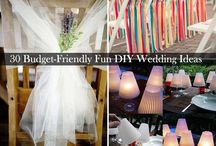 Wedding Decoration ideas / Decorations on a budget for our wedding.