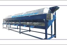 Cashew Nut Sizing System  / Raw Cashew Nut Sizing System from Gayathri Industries. Get more details http://www.cashewmachines.com/raw-cashew-nut-sizing-system.html