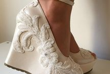 fashionable summer wedge shoes