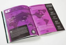 Editorial Design / Magazine spreads and covers / by Robert Hacala Brand Design