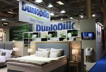 Dunlopillo, showroom Concept Redesign / Thalpos ABEE is a manufacturing, importing, and trade company of high quality sleeping products, active in the Greek market since 1991. The company has introduced the mattresses and pillows of Dunlopillo, an internationally renowned British brand which is active since 1926. Currently, the company has presence in 80 countries and there are 9 Dunlopillo stores in Greece.
