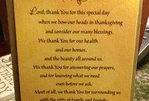 Prayers