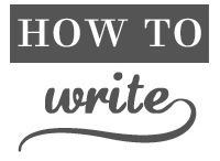 HOW to write a note....