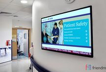Digital signage in hospitals