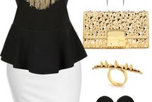 Outfits black and white