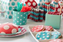Polka Dot Birthday Party / It's my sister's first baby's 1st birthday and polka dots is the theme.