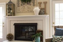 Mantel Decor / by Stephanie Browning
