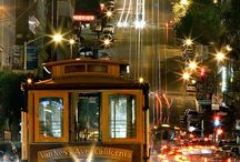 Cable car on SF streets