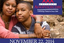 National Adoption Month / Gathering resources for increasing awareness and understanding of adoption