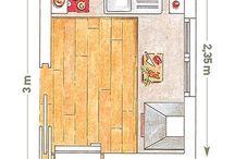 planos casa - cocinas