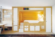 Tiny homes hidden furniture