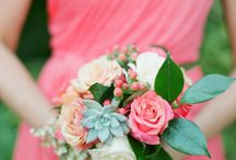 wedding color scheme/flowers / by Abby Herndon