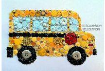 Button art transport