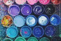 Bunt/colorful