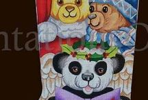 Cool Needlepoint Canvases New and Old