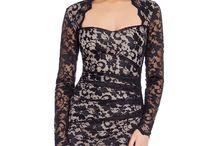 Rochie eleganta, dantela neagra