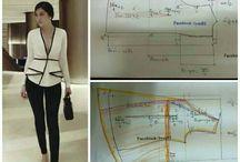 Pola blouse