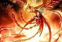 El Ave Fenix / El ave fénix(phoenix) que para mucho simboliza fuerza de resurrección,esperanza,la superación de barreras y limites que como consecuencia de ello nos volvemos mas fuertes.