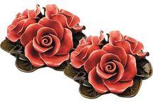 bloemen van keramiek