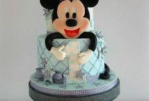 gâteaux à thème Mickey