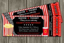 Cinema Birthday Party