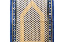 BLUE & GOLDEN JA'NAMAZ / Shannoh.com - World's Best Islamic Online Shopping store for best quality islamic clothes. Buy Online best PRAYER ITEMS for customized lengths and sizes in all variants of Islamic Dresses.