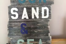 Everything Beach  / Everything beach for your home. From Crafts, DIY, and decor.